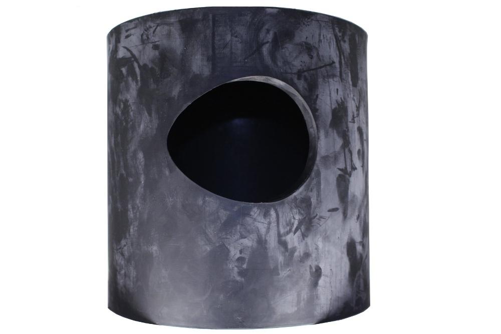 gummitopf f r auslaufbock stahl. Black Bedroom Furniture Sets. Home Design Ideas